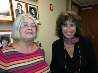 photo of Susan Urban and Elaine Wolff